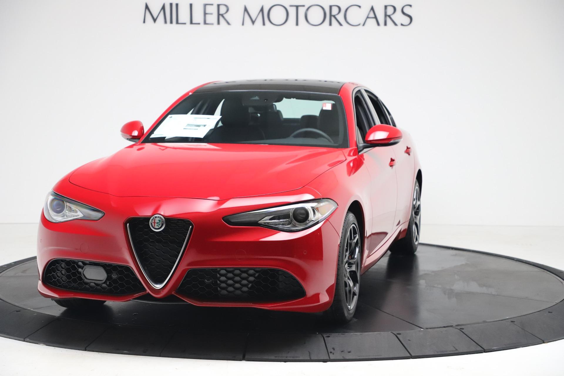 New 2020 Alfa Romeo Giulia Sport Q4 For Sale ($47.790) | Miller Motorcars Stock #LW405