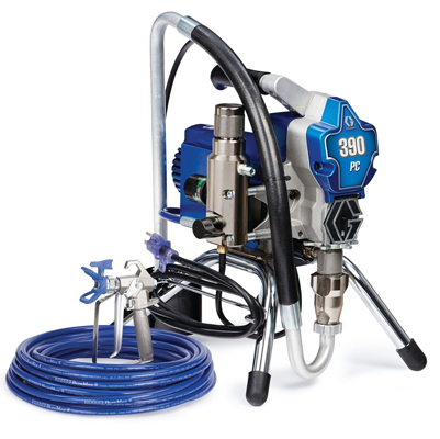 GRACO-390-PC-STAND-AIRLESS-SPRAYER