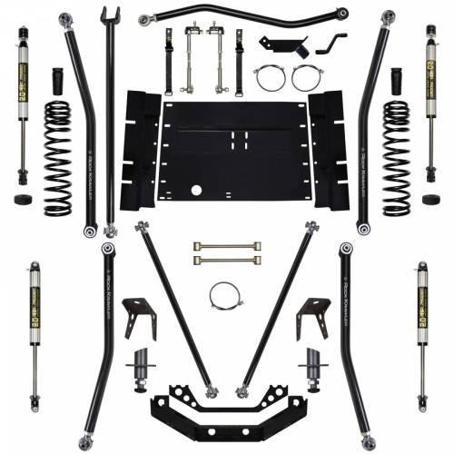 small resolution of rock krawler suspension 5 5 inch long arm lift kit w shocks 8 inch stretch