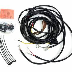Kc Hilites Daylighter Wiring Diagram 3 5 Mm To Xlr 63082 Universal Harness For 2 Cyclone