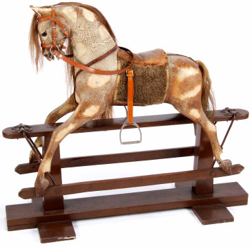 how to date a rocking horse