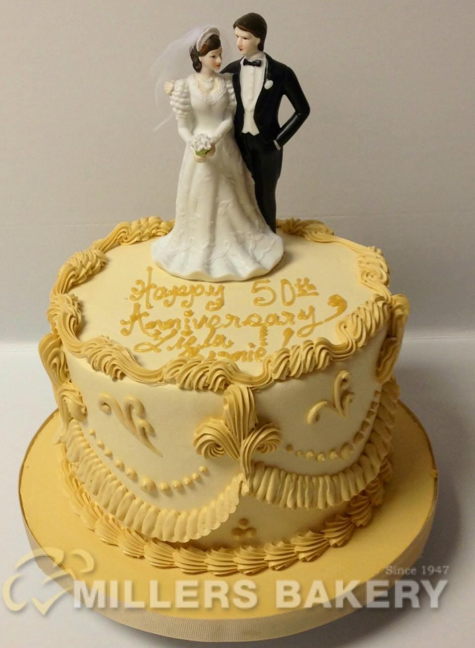 Custom Anniversary  Engagement Cakes  Millers Bakery
