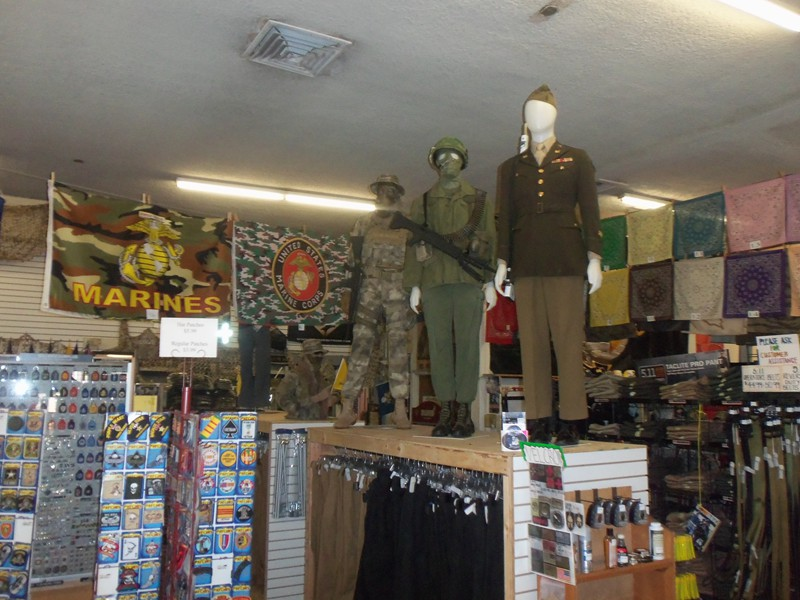 Millers Surplus  The Worlds Greatest Store  Military