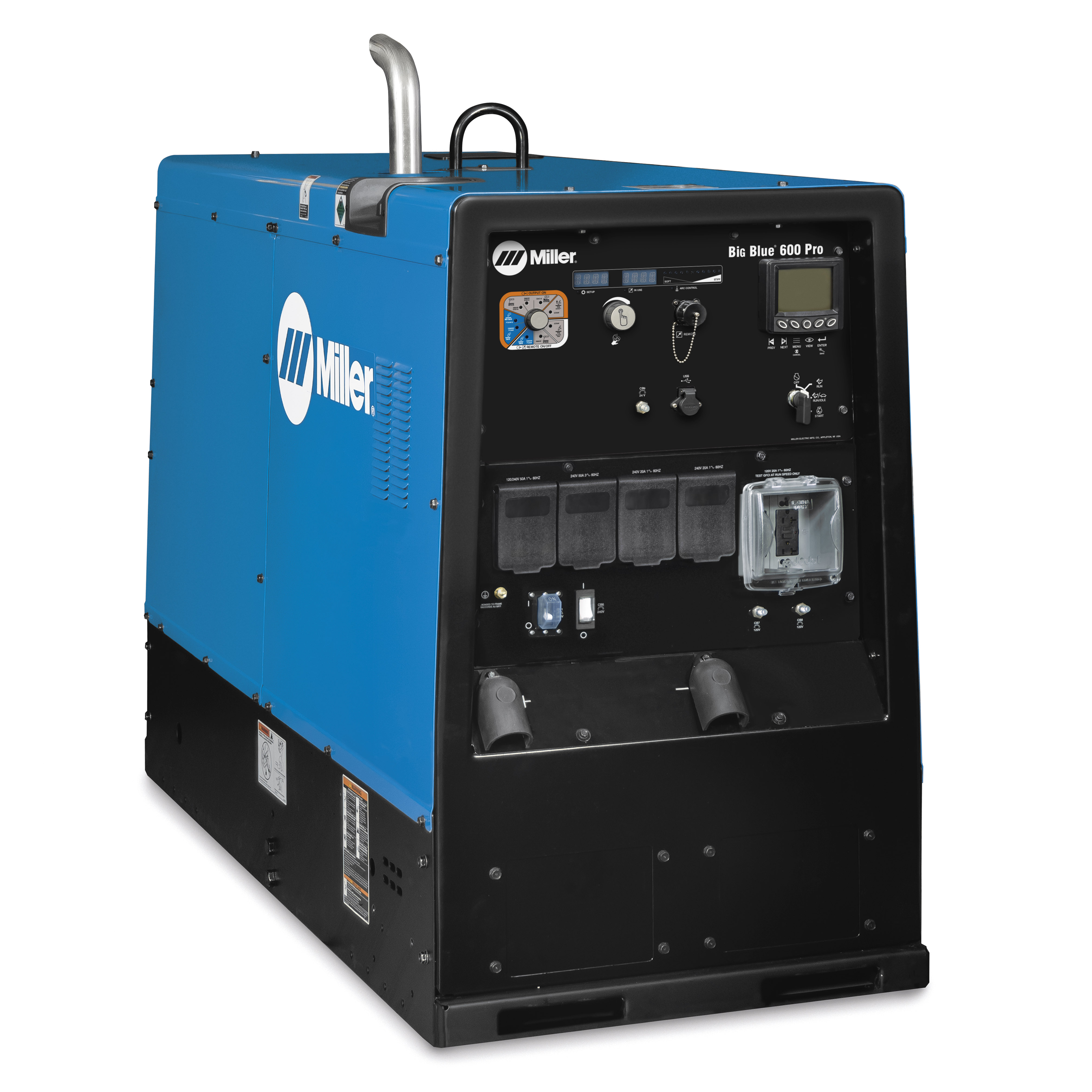 medium resolution of big blue 600 pro engine driven welder generator millerwelds troubleshooting circuit diagram for welding generator miller