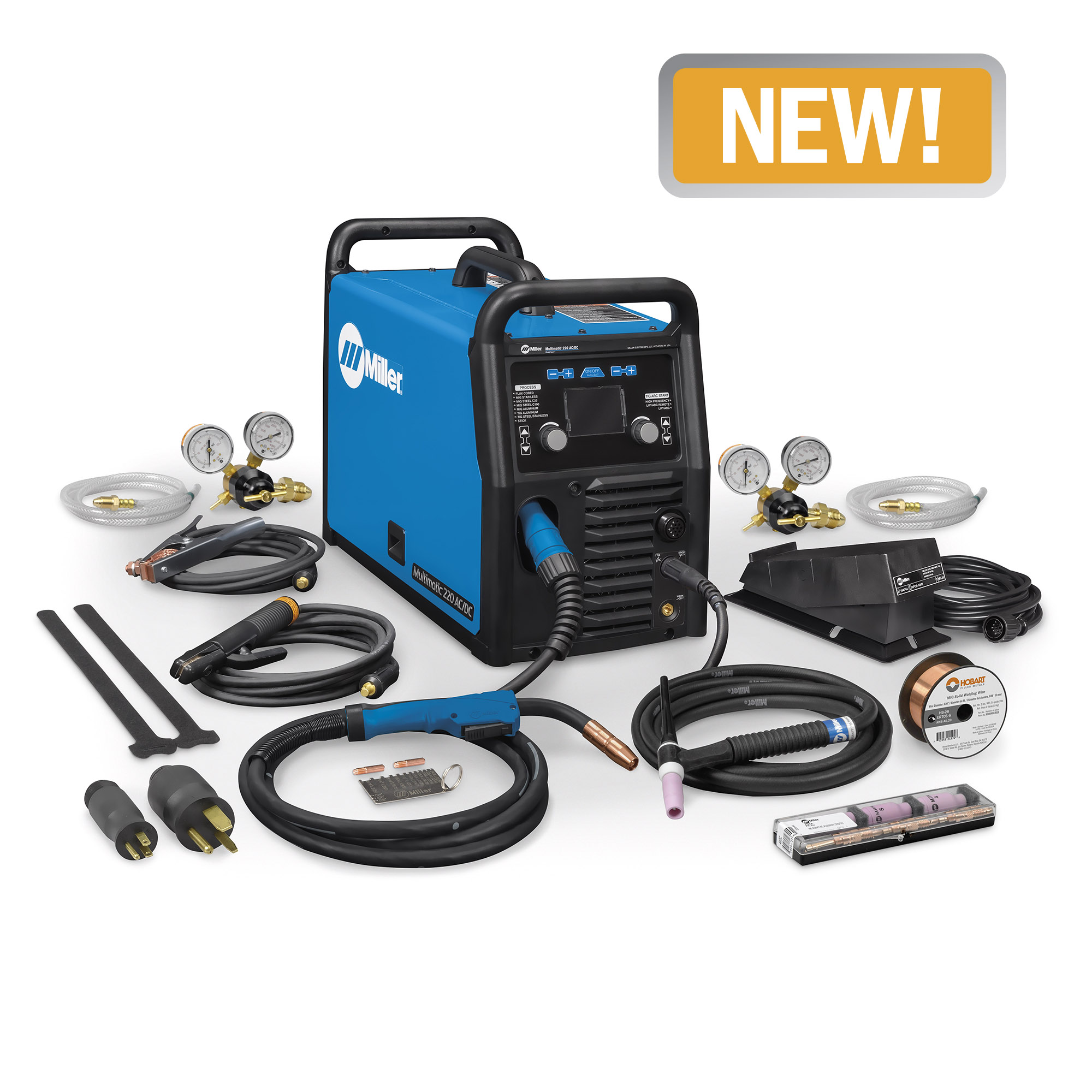 medium resolution of miller multimatic 220 ac dc multiprocess welder with accessories