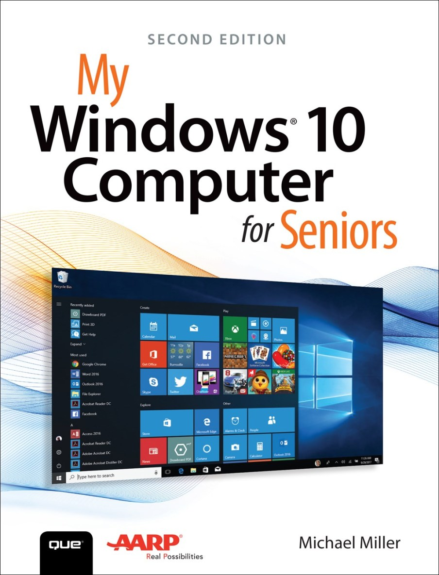 My Windows 10 Computer for Seniors, 2nd Edition – Michael Miller