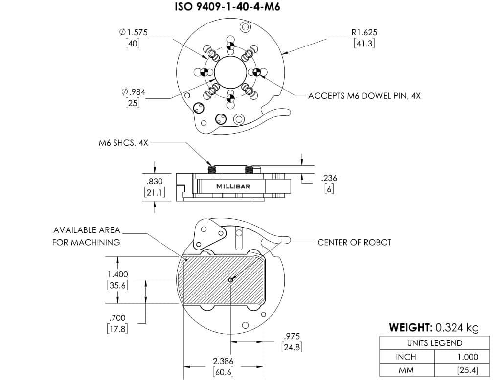 MTC-40-BP · Millibar Robotics
