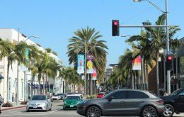 Rodeo drive, where the rich and wanna-look-rich shop.