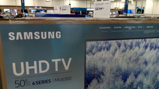 TVs selling for bargain prices