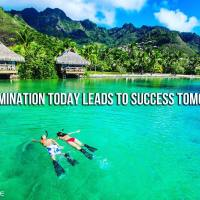Determination Today Leads to Success Tomorrow