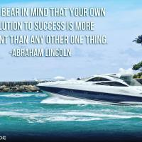 Always bear in mind that your own resolution to succeed, is more important than any other one thing. - Abraham Lincoln