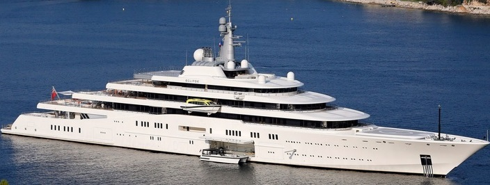 ECLIPSE YACHT - How Roman Abramovich Overpaid For His Megayacht Eclipse