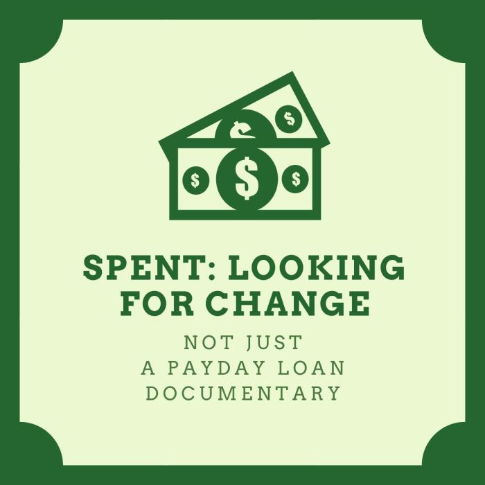 spent looking for change graphic