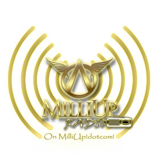 MilliUp Radio On MilliUp!dotcom! white