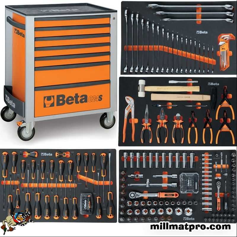 servante beta 7 tiroirs 235 outils