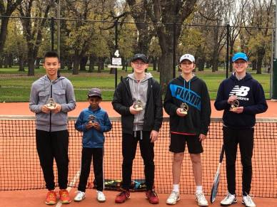 Mill Park Tennis Club   Junior Boys Competition