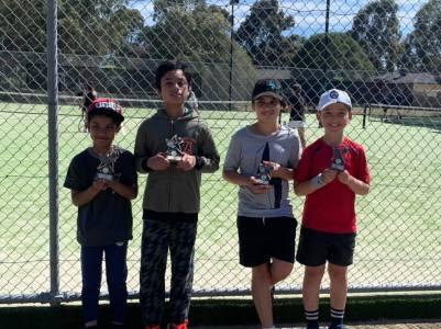 Mill Park Tennis Club   Club Champs Doubles D Grade Mens 2019