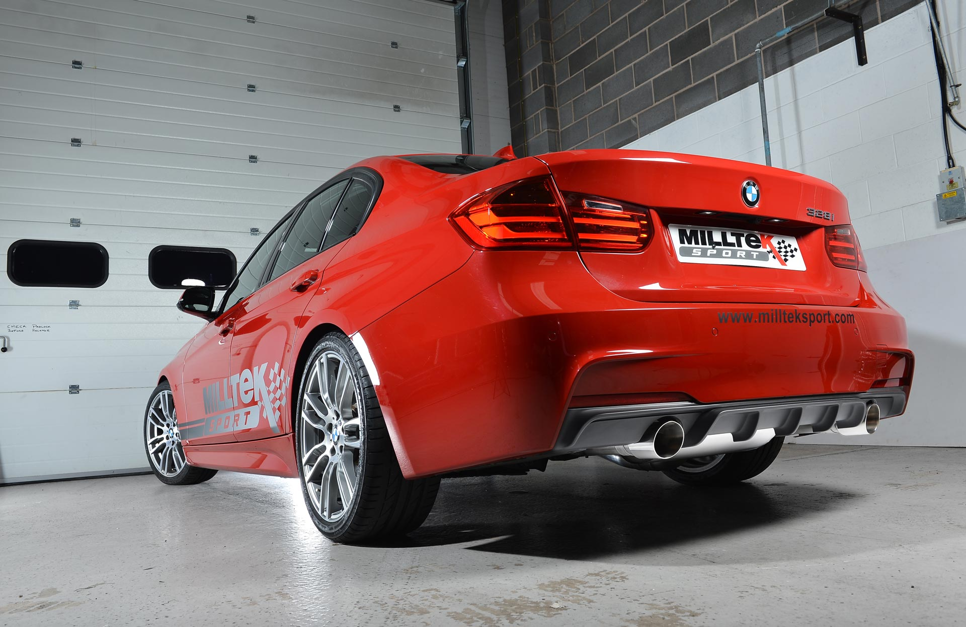 bmw 3 series f30 328i m sport automatic without tow bar none xdrive n20 engine only milltek exhaust