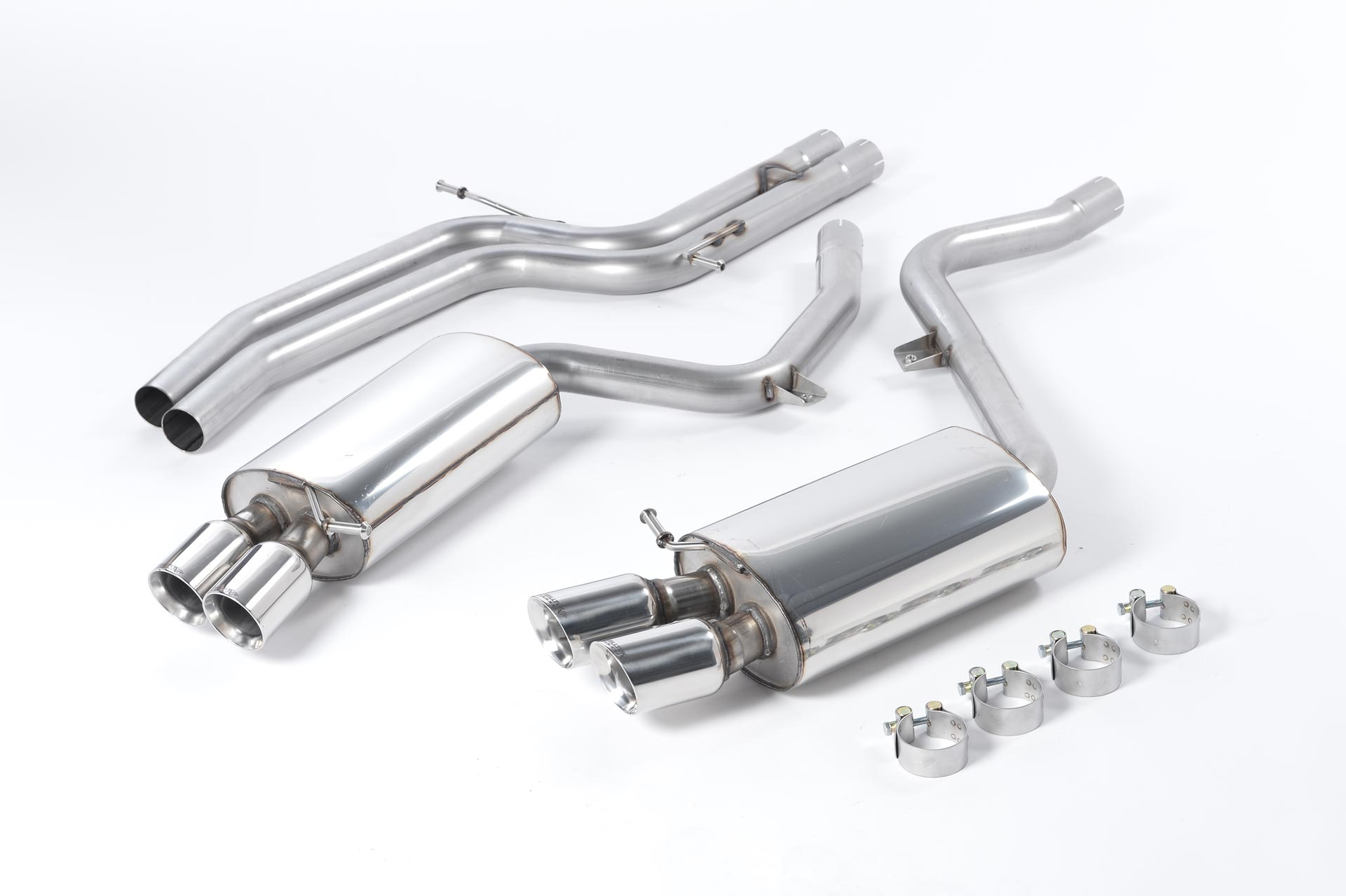audi s5 4 2 v8 b8 coupe manual and auto milltek exhaust