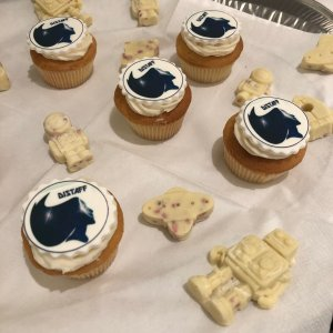 White Chocolate Robots and Cupcakes with Distaff Scifi Anthology cover image
