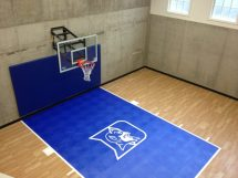 Indoor Home Gyms & Courts Athletic Surfaces Millz House