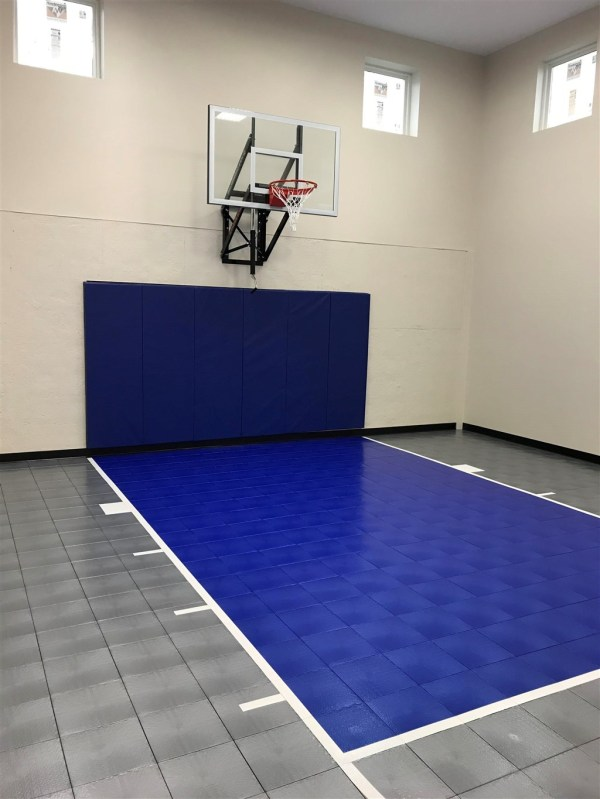 Indoor Basketball Court Gym