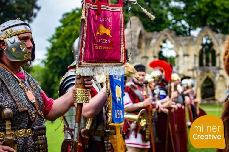 York Roman Festival 2019 in Museum Gardens