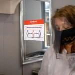 Commuter Barbers Coronavirus Reopening photos