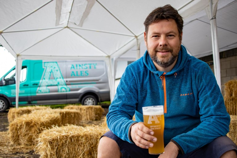 Ainsty Ales Reopening milnerCreative