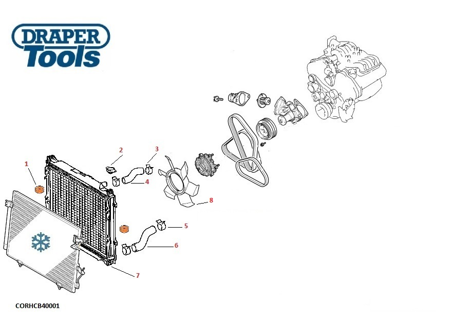 Radiators / Hoses & Caps for MITSUBISHI L200 2.5L Diesel