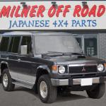 Mitsubishi Pajero Parts Mitsubishi Pajero Spares Milner Off Road