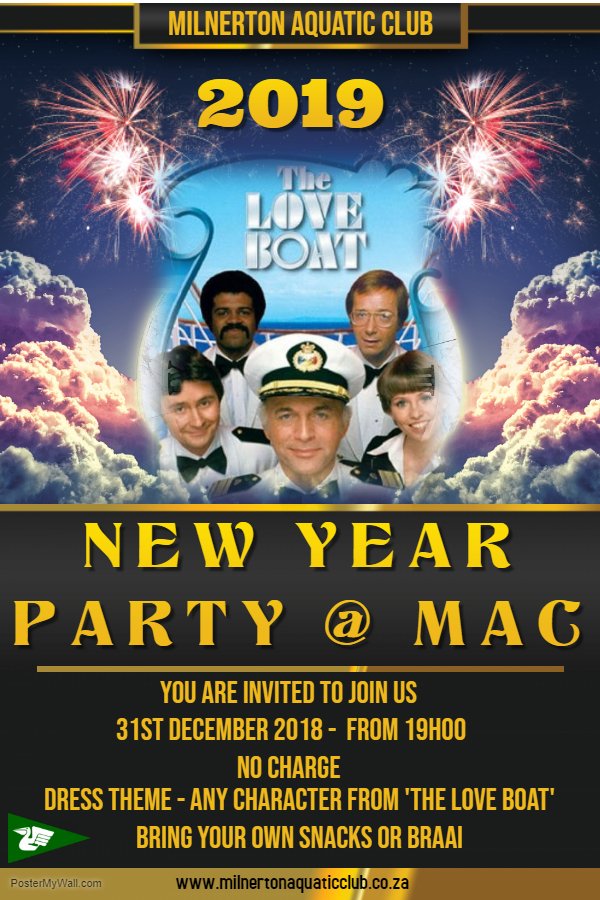 mac new years party you are invited to join us to celebrate the start of the new year date 31st december 2018 from 19h00 no charge dress theme any