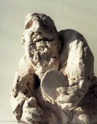 NARCISSE / bronze sur commande / (21 x 16 x 16 cm) / 1400€