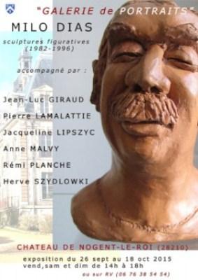 «Portrait Gallery» Exhibition at the Nogent castle