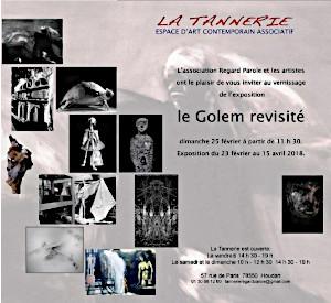 Contemporary art exhibition at La Tannerie de Houdan (78550)