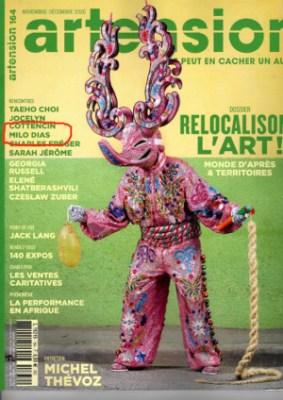 « Artension » magazine met Milo Dias en avant