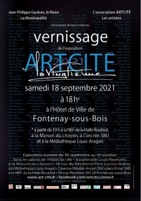 Artcité 2021 invitation