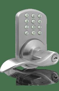 MiLocks TKL-02 Keyless Entry Lever Handle Door Lock with ...