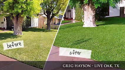 Milorganite lawn and garden testimonials