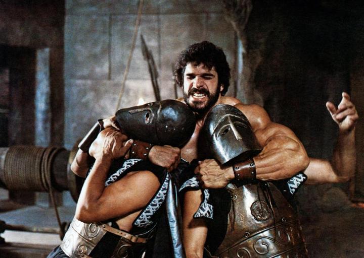HERCULES, Lou Ferrigno, 1983. ©Cannon Films
