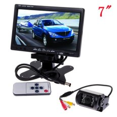 7-Color-TFT-LCD-Rear-view-Monitor-DVD-VCR-waterproof-Car-Backup-Camera-Car-Rear-View