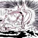 Comic Art: Bruck Chonson vs. The Sea Serpent of Venezuala