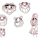 """Development Art for Animated Feature """"Oz"""""""