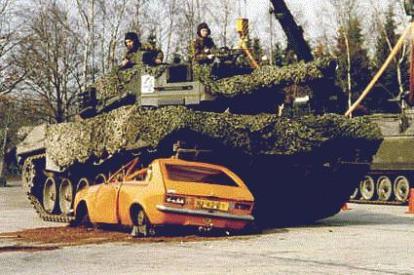 German Leopard Tank