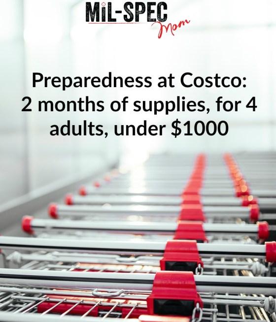preparedness at costco