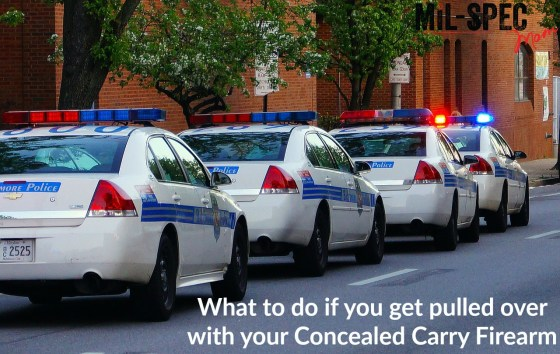 what to do if you get pulled over