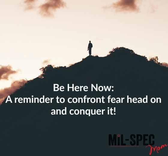 confront fear head on
