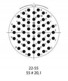 41/55 WAY 16&20AWG MILSPEC KIT (3470)