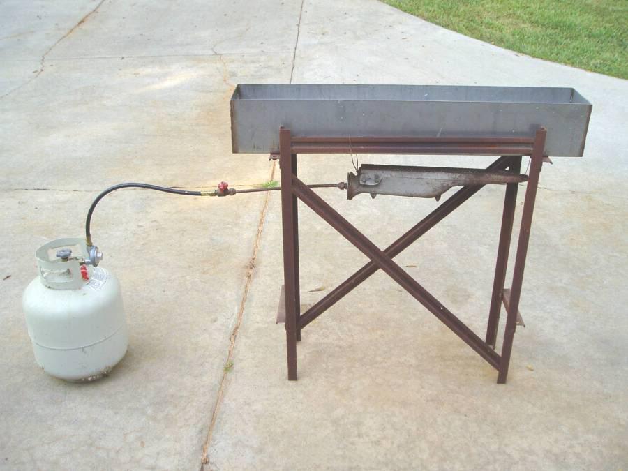 Hot Bluing Tank Burner