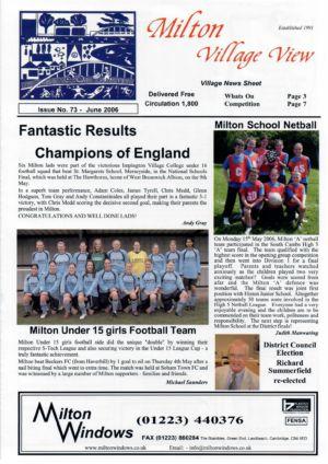 VV Issue 73 June 2006